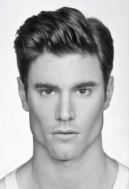 resultado de imagen para rostro cuadrado hombre rostro modernos