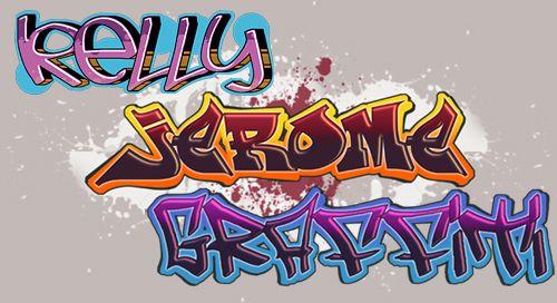 Graffiti pr nom cr er et imprimer le graffiti de votre pr nom enfants cr ation graffiti - Lettre graffiti modele ...