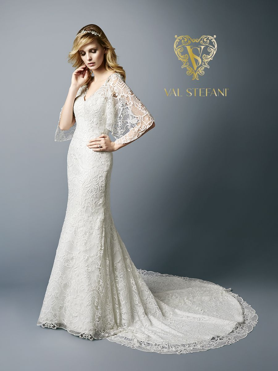 Style ashton trumpets bridal gowns and winter wedding ideas