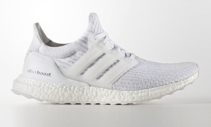 fe63e37ec65 Adidas Ultra Boost All White Triple White 3.0 Mens Ba8841 Size  7-15 https