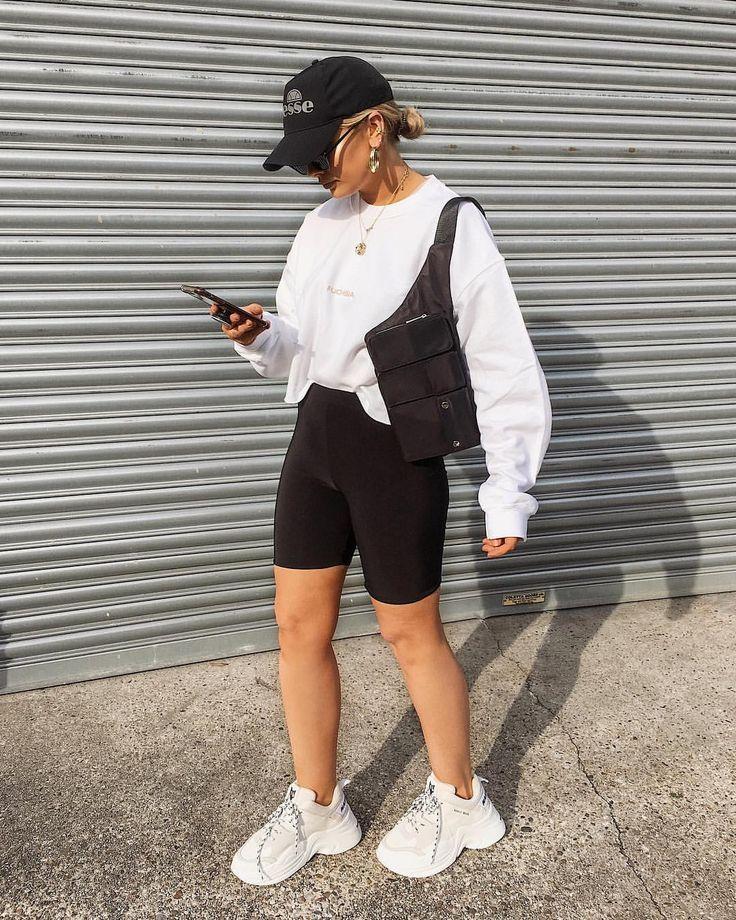 Bike Shorts Outfit Tips #bikeshorts #shorts #shortoutfit