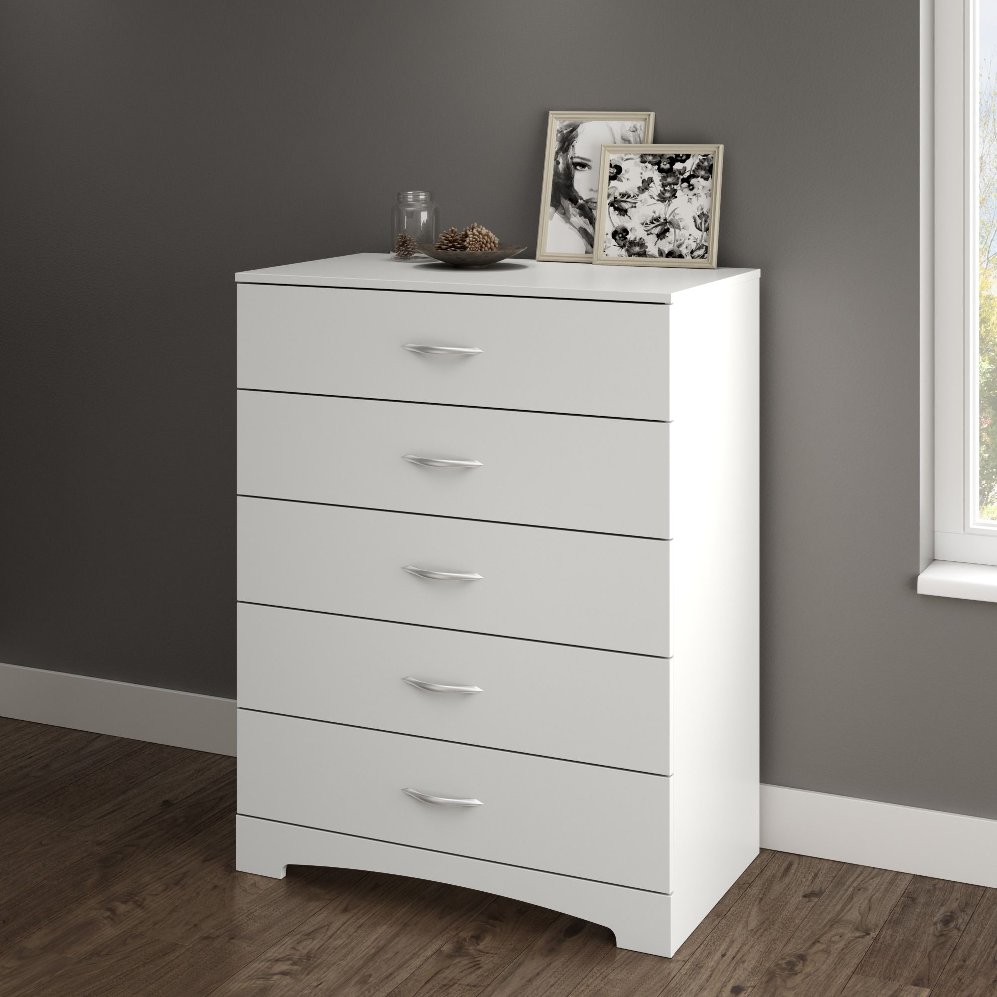 South Shore Soho 5 Drawer Chest White Walmart Com In 2021 Furniture 5 Drawer Chest Dresser Drawers [ 2000 x 2000 Pixel ]
