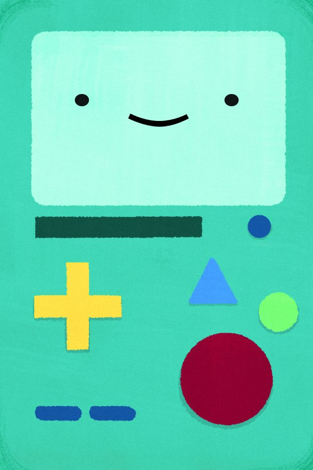 bmo+pics | couldn't find a retina adventure time wallpaper for iPhone, so I ... | Bmo ...