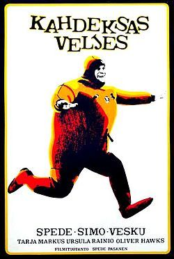 Kahdeksas veljes 1971 movie poster.