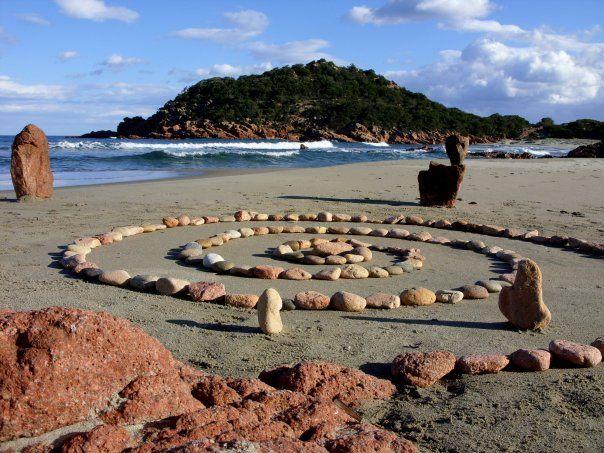The Spiral Lovers Waiting, Raffaele Serra, Sardegna.