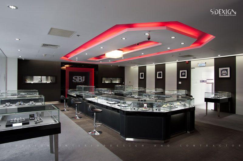 SBJ Jewelry Diamond Store in HCMC SDECOR Interior Design Work