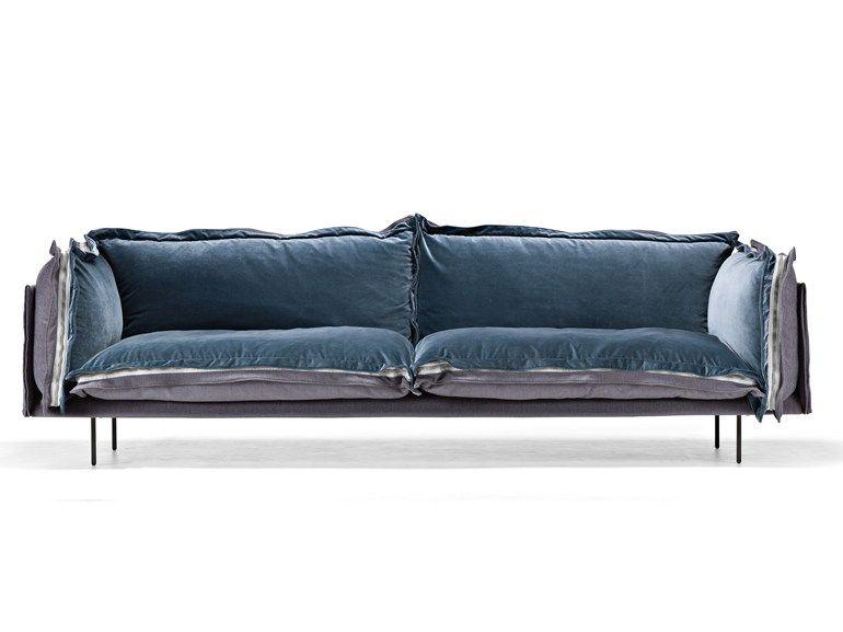 AUTO REVERSE Fabric Sofa Auto Reverse Collection By Arketipo Design  Giuseppe Viganò
