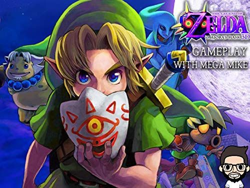 The Legend Of Zelda Majoras Mask 3D Gameplay With Mega Mike