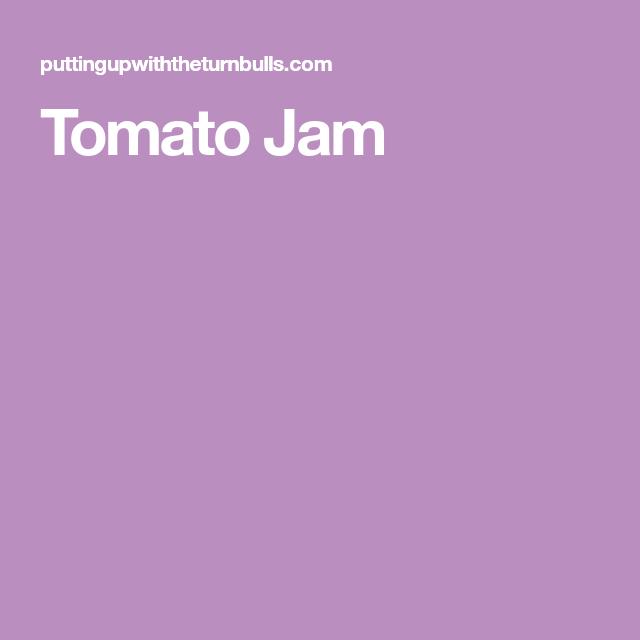 TomatoJam