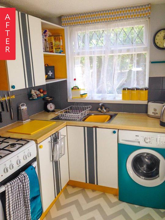 Antes y después: 8 cambios de look en cocinas sin obras | Decoración ...