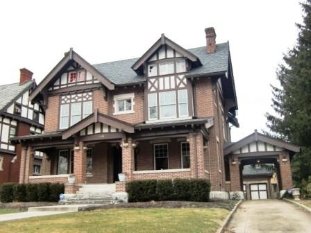 Modern Tudor Homes a tudor house in columbus, oh. this is a fairly typical blend of