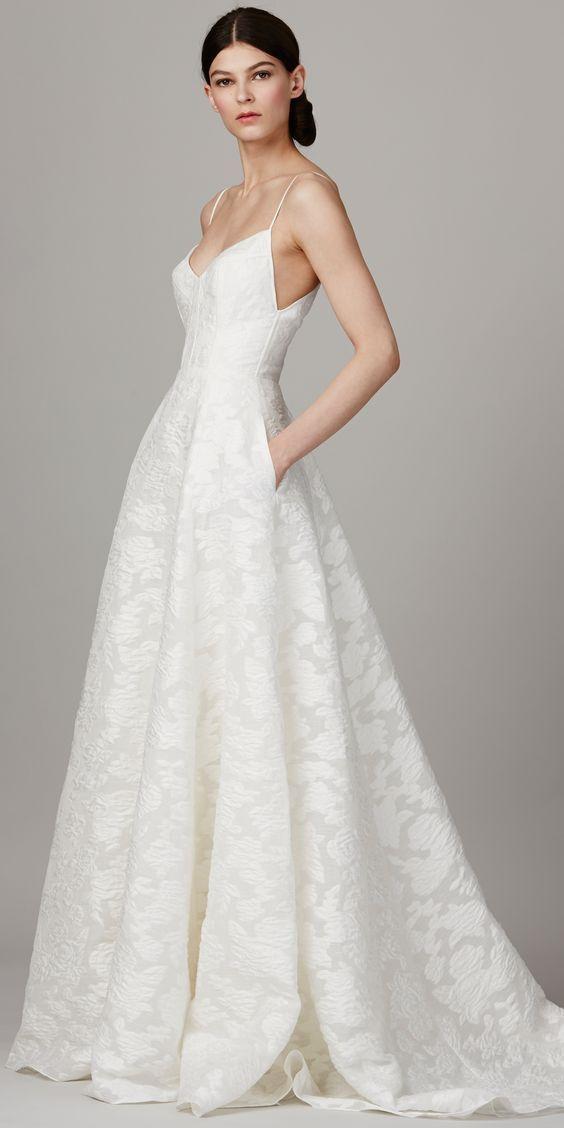 The Prettiest Spring 2017 Wedding Dresses from Bridal Fashion Week ...