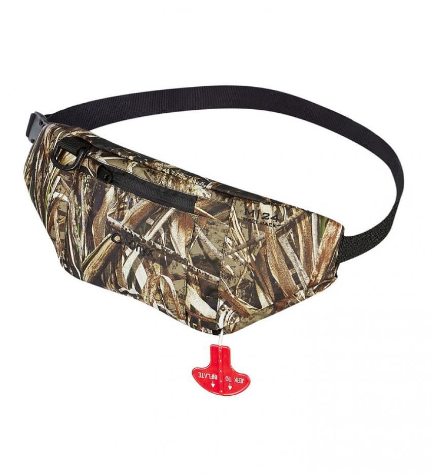 Onyx M24 Manual Inflatable Life Jacket in bag Realtree
