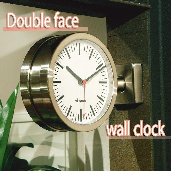 bonox bonox double face wall clock black piccolo piccolo dalton dulton watch doublesided aluminum wall clock decor stylish dalton coop fob fob corp fob
