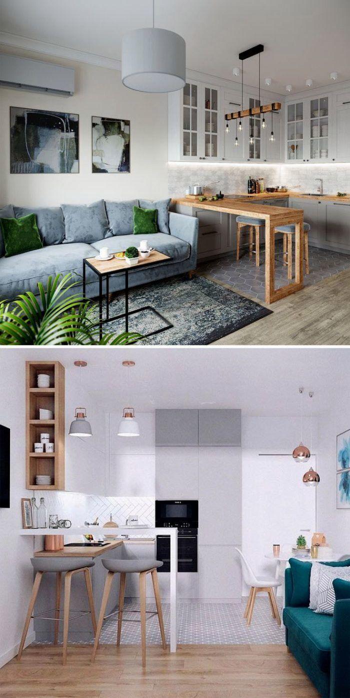 Дизайн Кухни-гостиной: 107 Фото (реальные) и 6 Идей (Неочевидные)