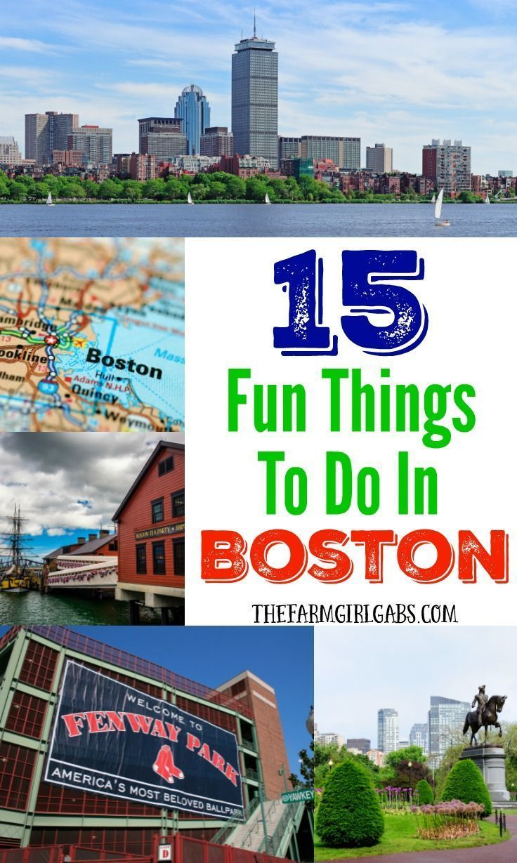 15 Fun Things To Do In Boston With Images Boston Things To Do