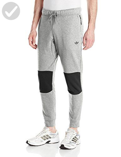 b3debab06 adidas Originals Men's Sport Luxe Moto Jogger Pant, Large, Medium Grey -  Mens world (*Amazon Partner-Link)