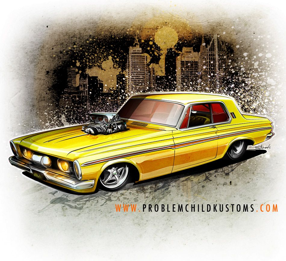 Older Piece... A Little Fury Funny Car For The Street, Why