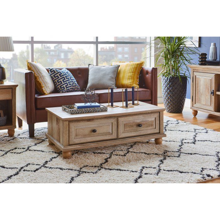 Better Homes Gardens Crossmill Coffee Table With Drawers In 2020