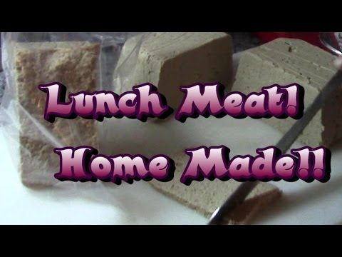 Home Made Lunch Meat!  Nutritious & Delicious!  [Who knew??? ~ Sherry]