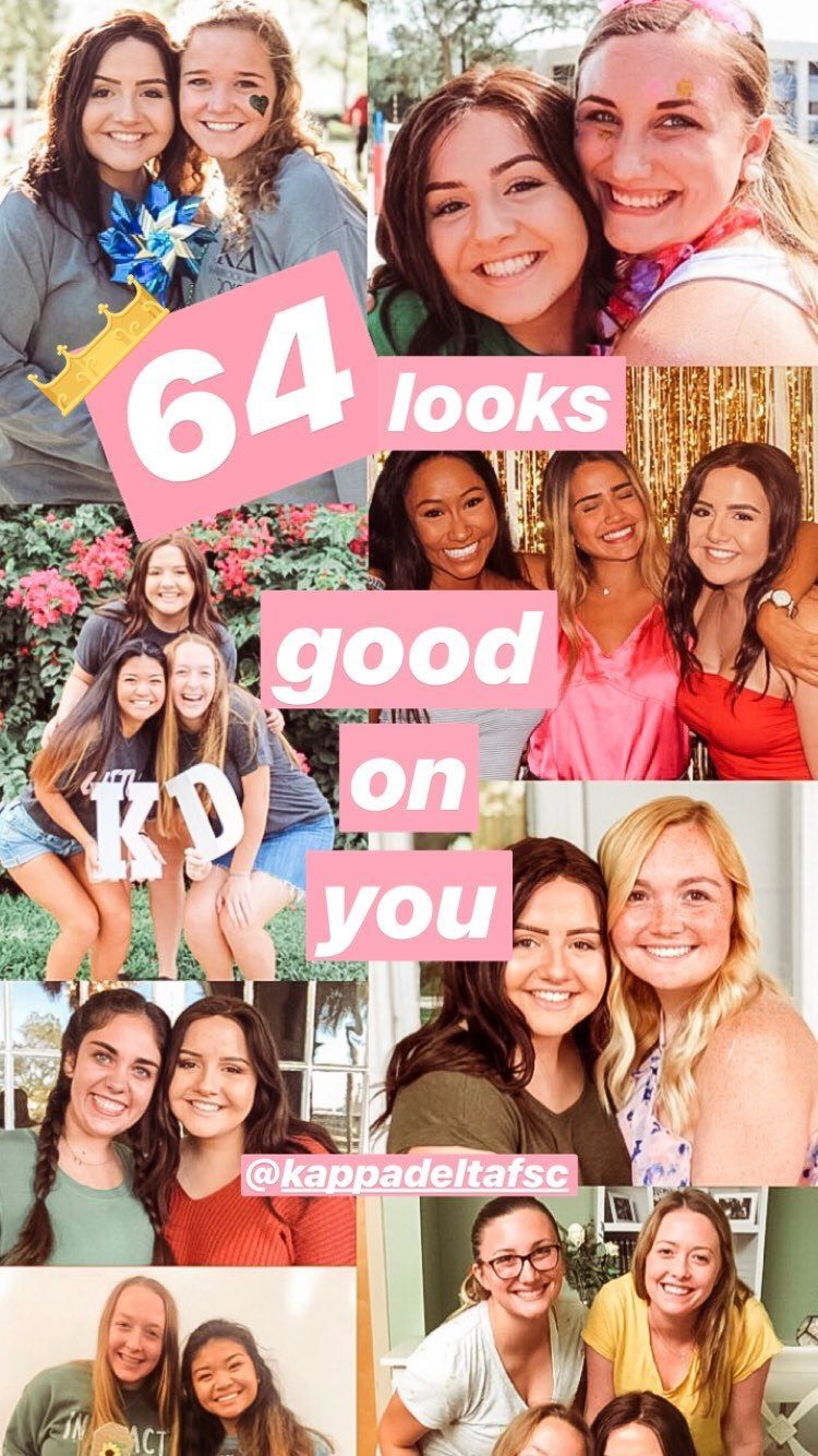 Sorority Instagram Story Idea Collage Instagram Story Ideas