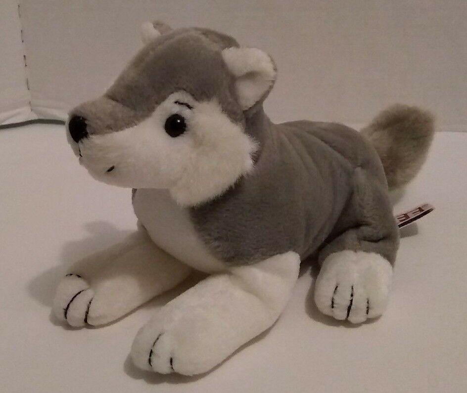 Life Magazine Siberian Husky Beanie Plush Stuffed Dog