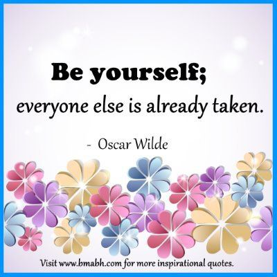 Quotes About Being Yourself Amusing Be Yourself Quotes  68 Best Quotes About Being Yourself .