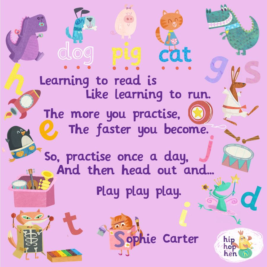 GREAT QUOTE...The importance of reading AND playing! Get a head start this  summer with our pre-school, phonics apps H… | Phonics s, Phonics reading,  Phonics apps