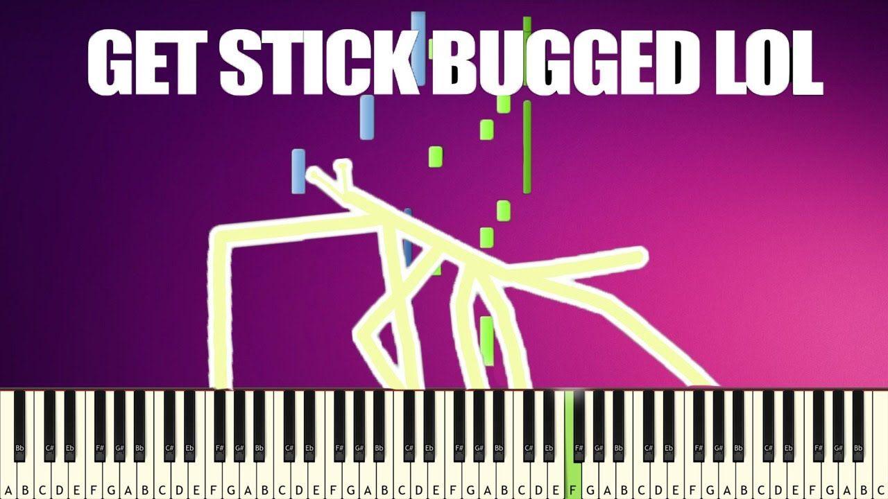 Stick Bug Meme Get Stick Bugged Lol Easy Piano Tutorial Piano Tutorial Piano Tutorials Easy Piano