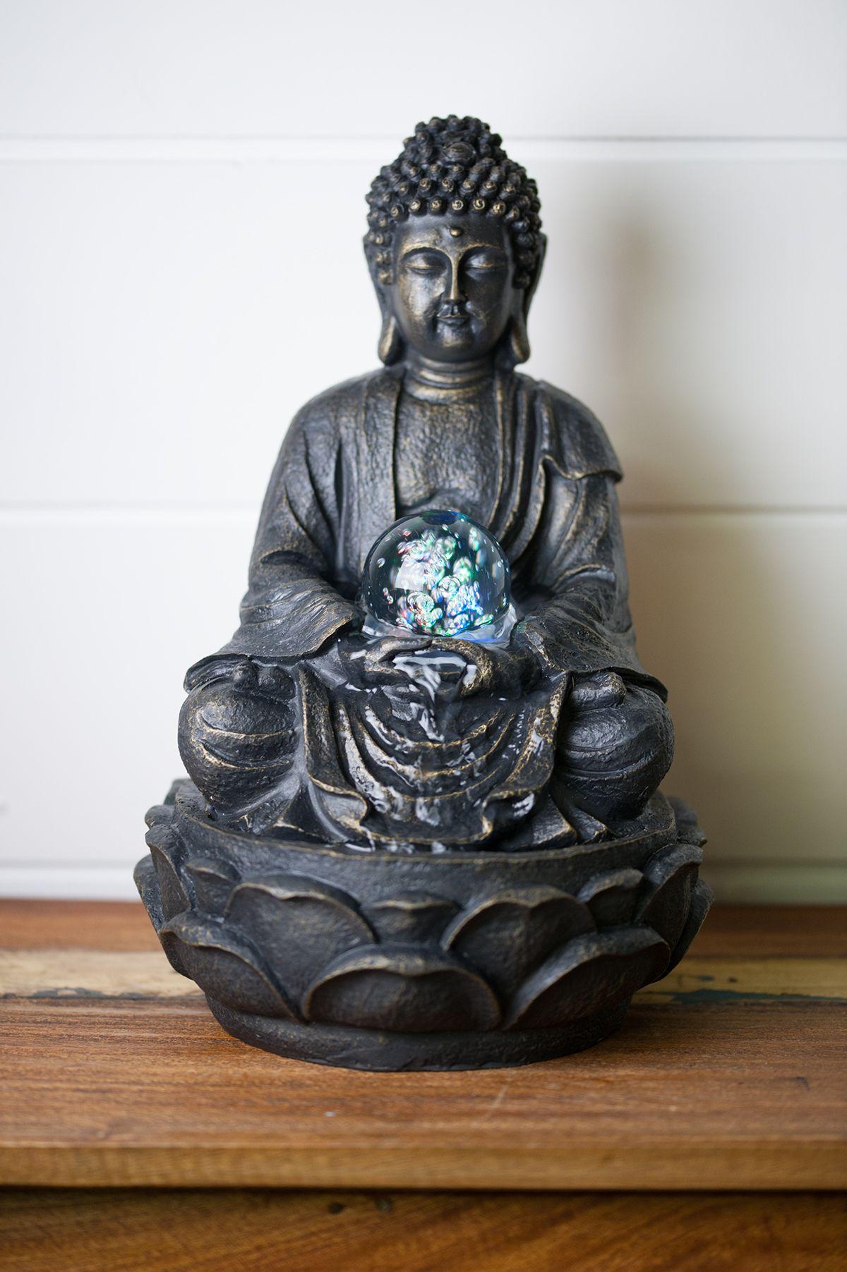 fontaine d corative fontaine d int rieur statue bouddha. Black Bedroom Furniture Sets. Home Design Ideas
