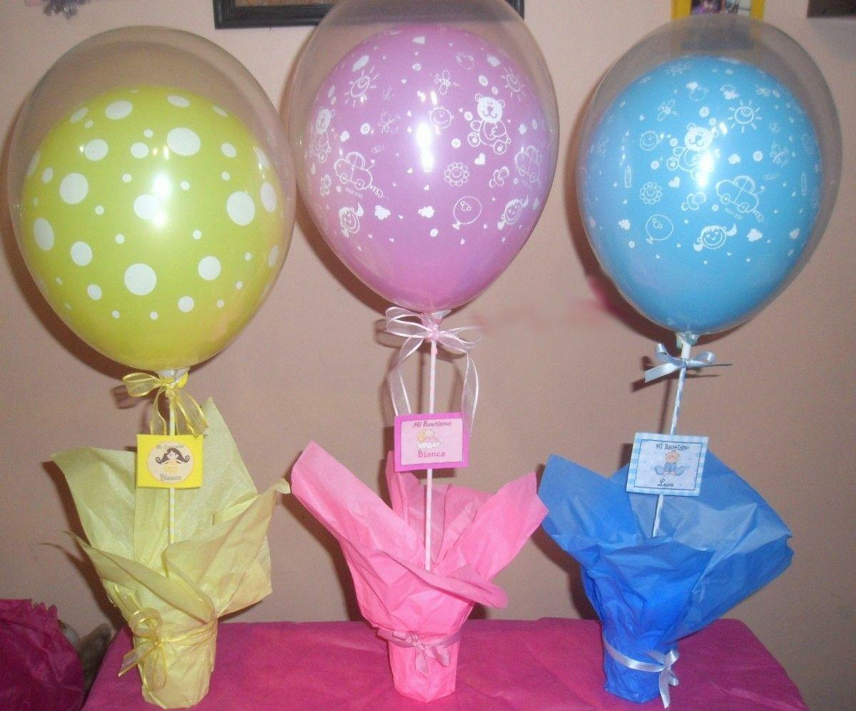 Como hacer arreglos de globo baby shower globos - Globos para fiesta ...