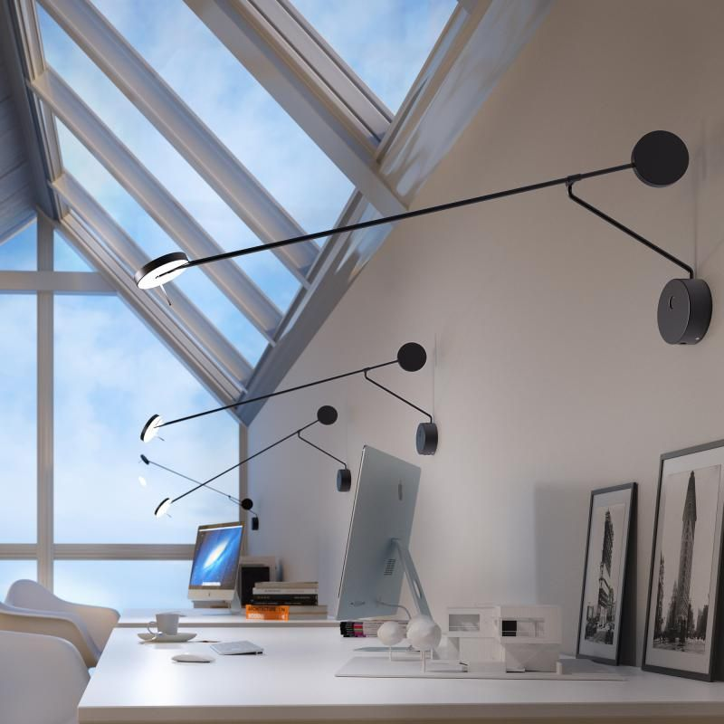 Grok By Leds C4 Invisible Led Wall Light With Dimmer 05 5079 05 05 Reuter Led Wandleuchten Wandleuchte Led