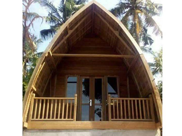 Rumah Kayu Knock Down | Desain Rumah Minimalis 2019