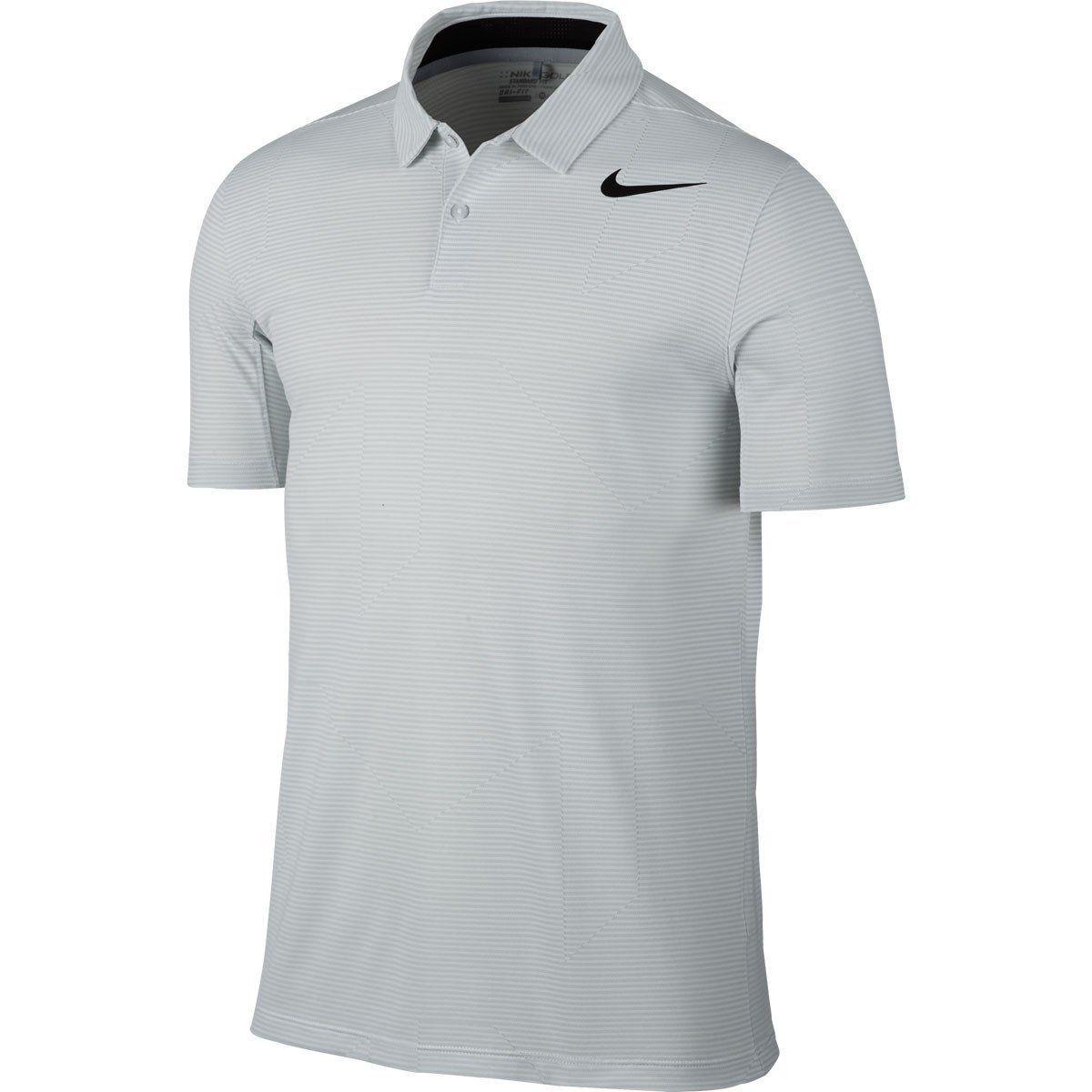 scegli autentico in arrivo scarpe sportive Nike Men's White Mobility Jacquard Polo | Nike golf men, Mens golf ...