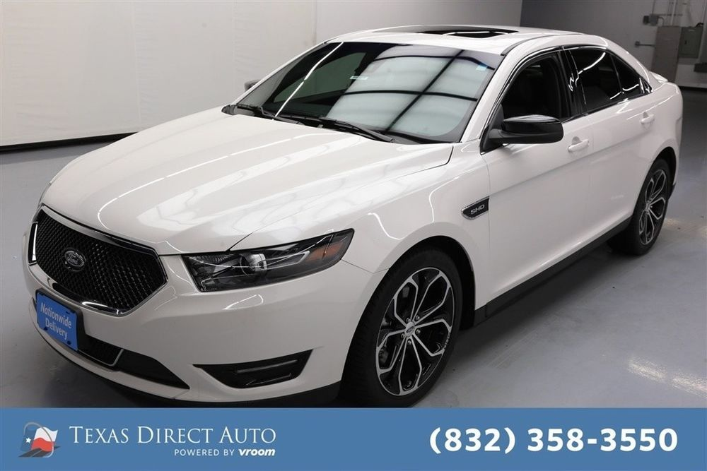 For Sale 2017 Ford Taurus Sho Texas Direct Auto 2017 Sho Used Turbo 3 5l V6 24v Automatic Awd Sedan Premium Ford Taurus Sho Ford Sedan