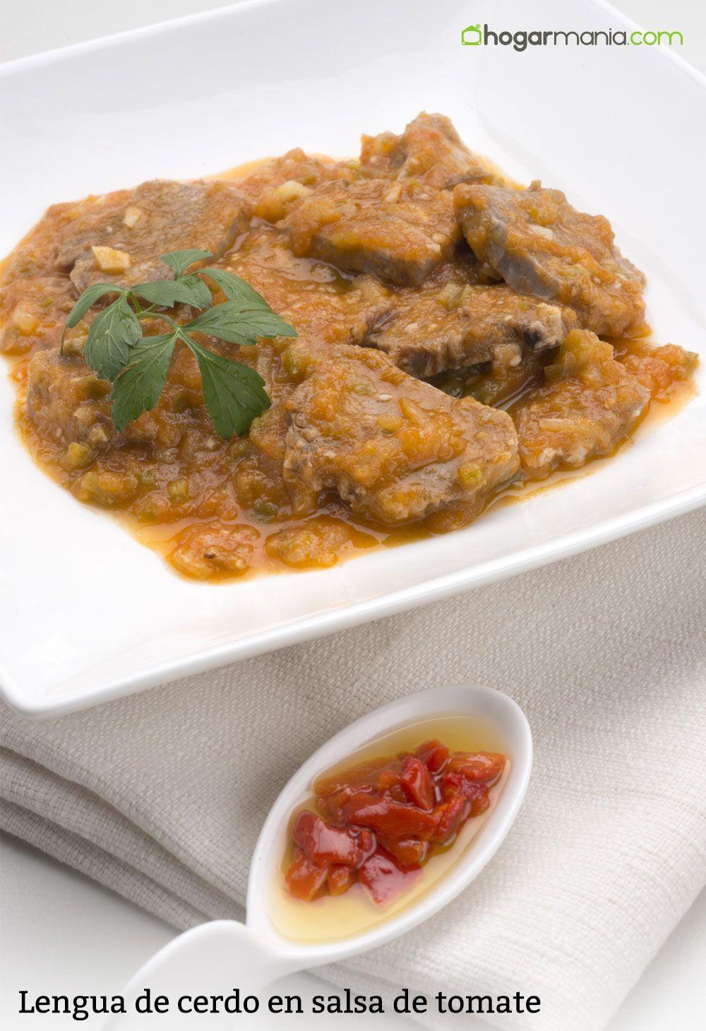Receta De Lengua De Cerdo En Salsa De Tomate Karlos Arguiñano Receta Cerdo En Salsa Comida étnica Cerdo Cocido