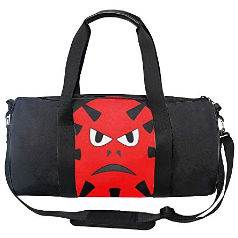 5bef231a5d99 Red Virus Gym Duffle Bag Drum tote Fitness Shoulder Handbag ...