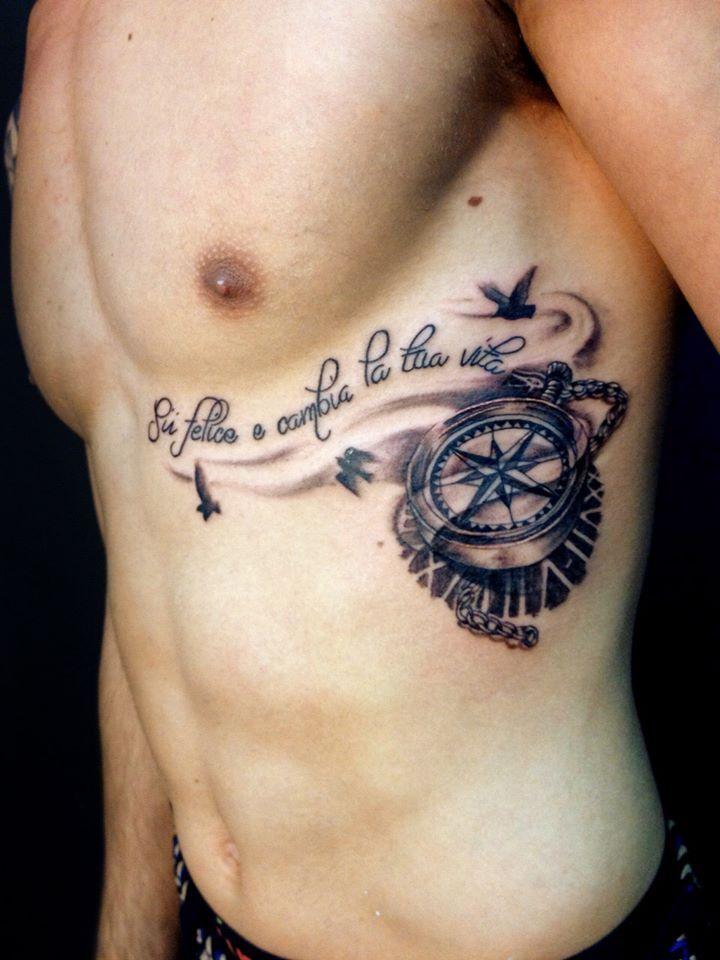 Twotattoo Tatuaje En El Costado Tatuajes Artisticos Pinterest