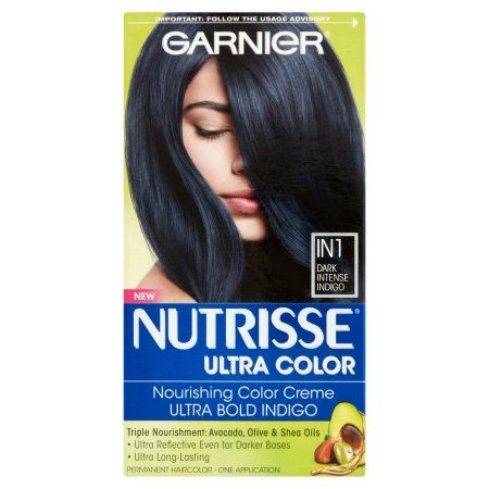 Beauty Hair Color Indigo Hair Blue Black Hair Color