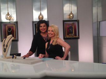 Connie and Debbie before the show. @debbiefarah  @hsn