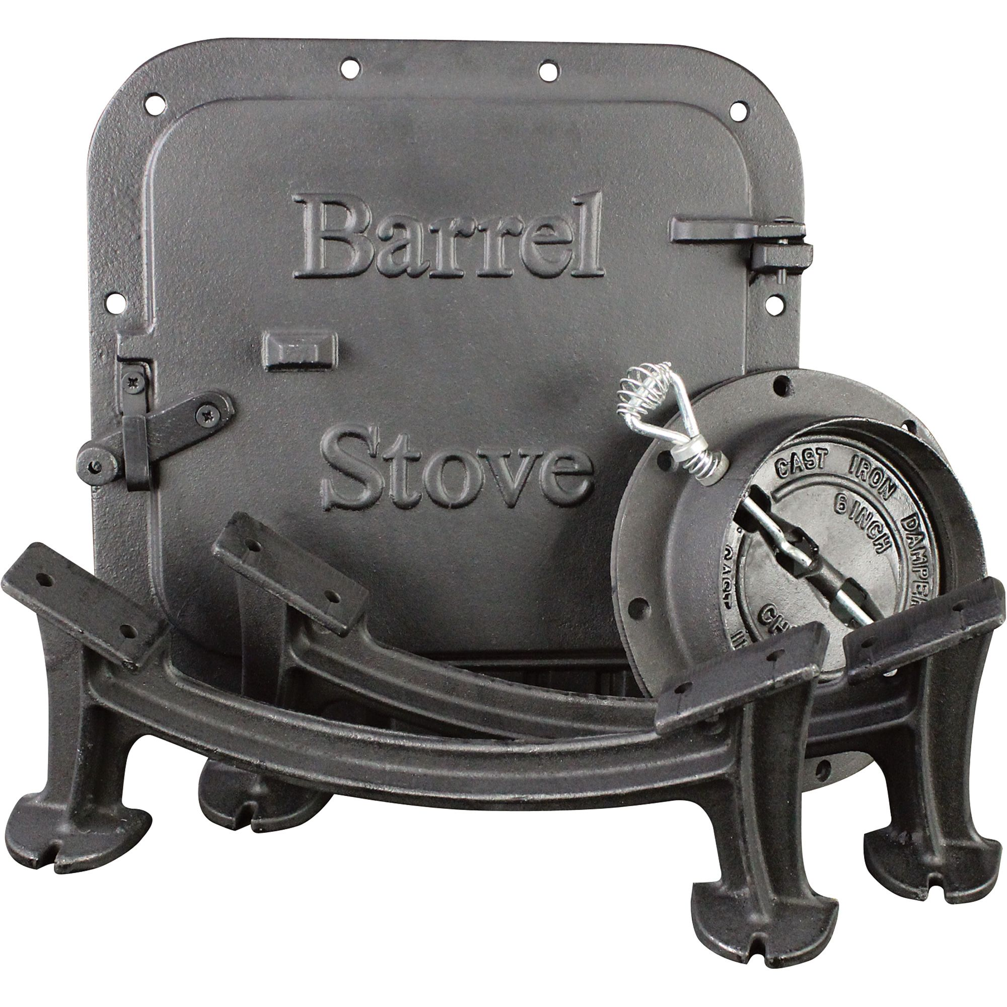 us stove barrel camp stove kit model bk100e 30 gallon drum