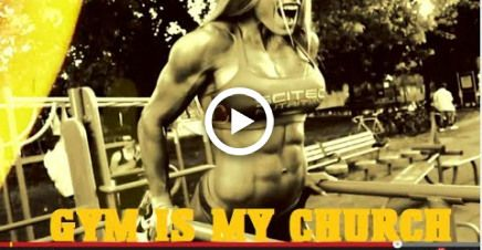 Female Fitness and Bodybuilding workout motivation - HEARTBEAT (MuscleFactory)(TheyGymLifestyle) #fi...