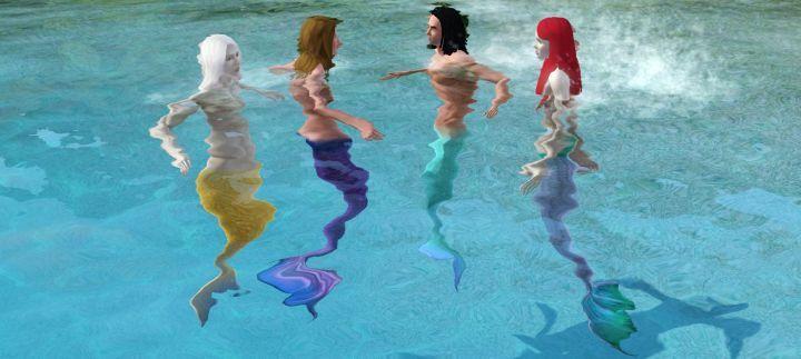 Sims  Mermaid S Secret Island