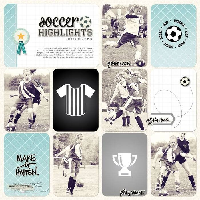 Soccer Theme Pack | digitalprojectlife
