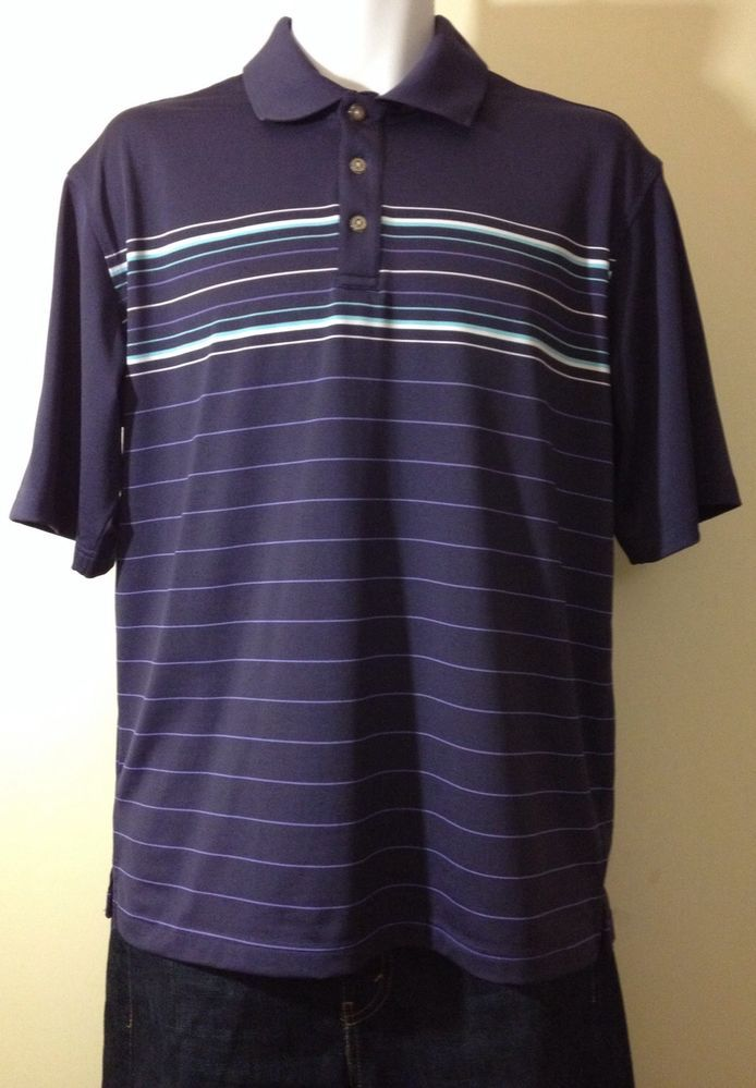 Lone Cypress Pebble Beach Polo Golf Shirt Luxury Performance Size Medium
