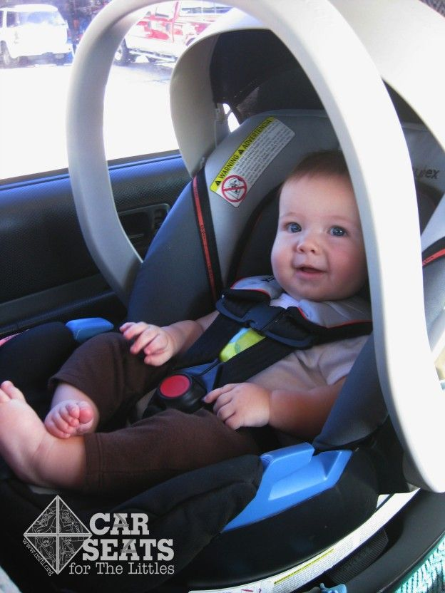 Cybex Aton infant car seat review www.csftl.org | Rear Facing Only