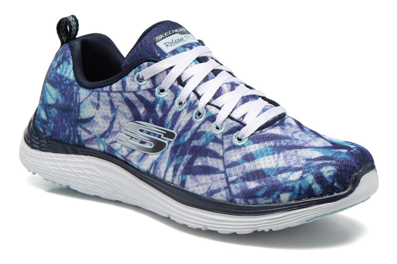 Skechers ValerisMAI Tai - Zapatillas Mujer, Azul, 36 EU