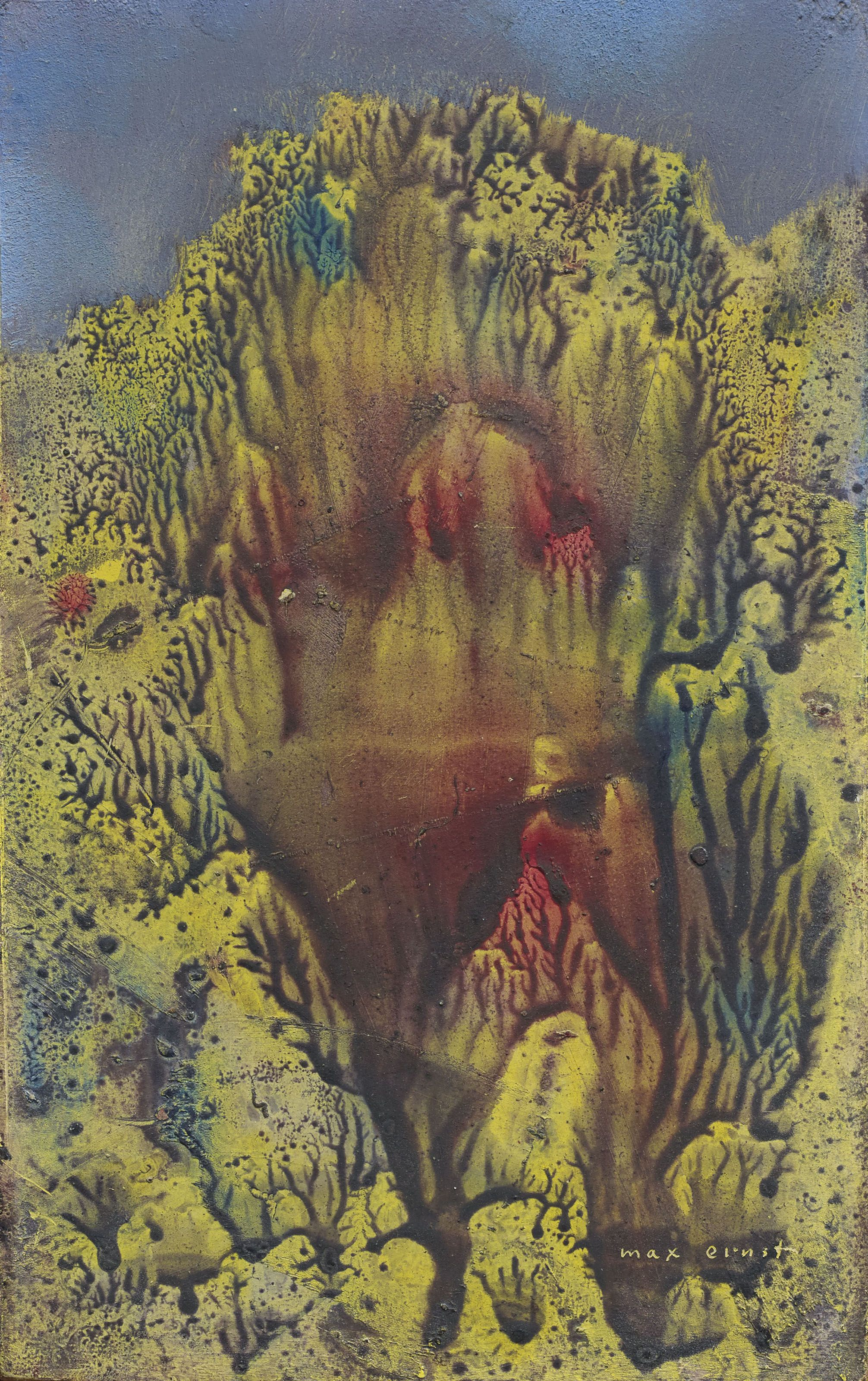Max Ernst 1891 1976 Sans Titre Paintings Oil Christie S In 2020 Max Ernst Art Day Painting