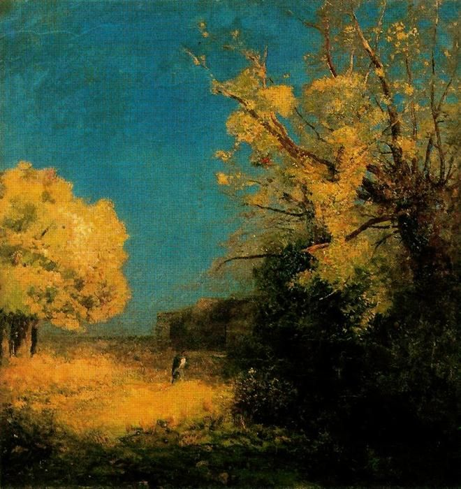Odilon redon 1841 1916 the road to peyrelebade pittura for Calle da dipingere