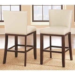 Swell Strick Bolton Hugo 24 Inch Counter Stool Set Of 2 Brown Evergreenethics Interior Chair Design Evergreenethicsorg